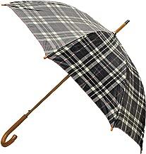 Rainbrella Classic Auto Open Umbrella with Real Wooden Hook Handle