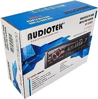 Receptor de Audio estéreo para Coche en salpicadero, Entrada Auxiliar FM, Bluetooth, SD, USB, Reproductor de Radio MP3