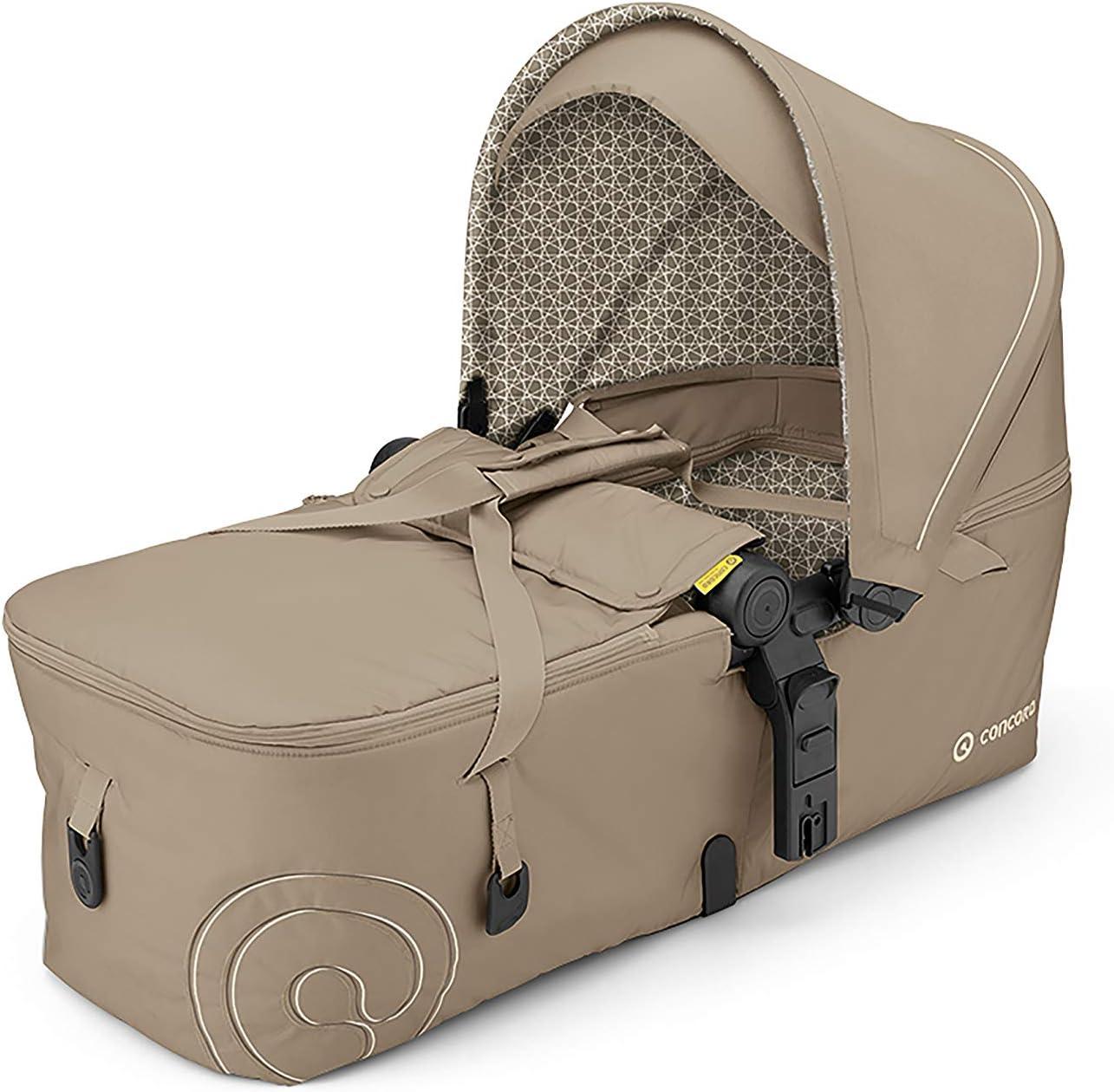 Concord - Capazo plegable scout para silla de paseo beige