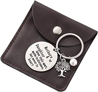 Mom Gifts Keychain from Daughter, Mothers Day Gifts for Mom Birthday Christmas