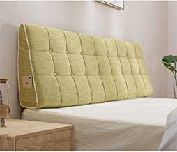 Bedside Cushion Bed Pillow Headboard Soft Pack Tatami Large Back Cushion Bed Cover Bed Cushion yangain (Color : A, Size : ...