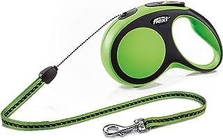 Trixie Croci C2055814 Plomo de Perro Flexi Confort Nuevo Cable S 8 M Verde