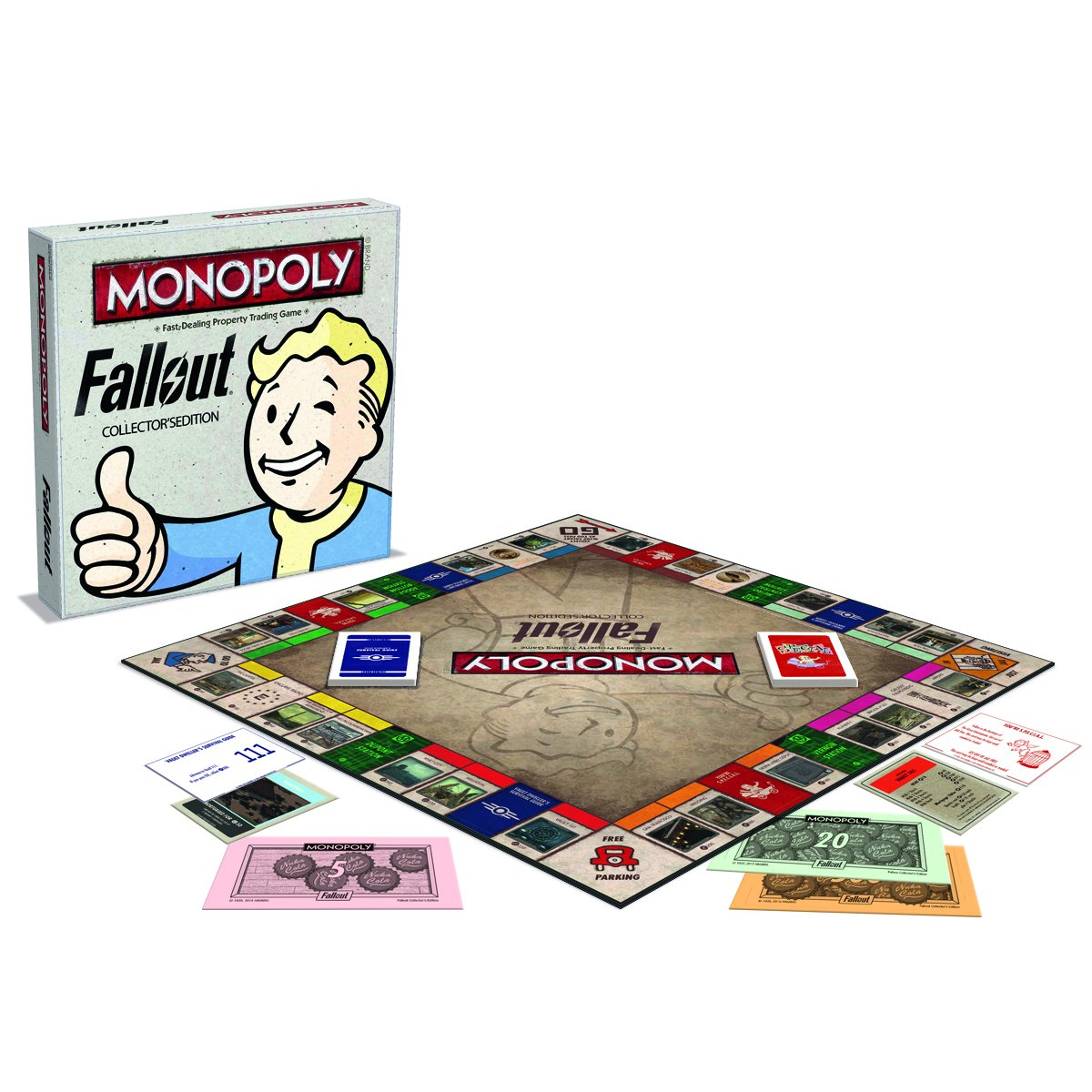 Fallout Monopoly Ingles*: Winning, Moves: Amazon.es: Juguetes y juegos
