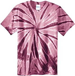 100% Cotton Adult Mens 80S Vintage Look Tie-Dye Tee T-Shirt