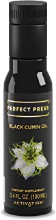 Activation Products, Perfect Press Black Cumin Seed Oil – Vegan, Organic and Gluten Free Pure Nigella Sativa - Digestive Support, Immune System Booster, Loaded with Vitamins B1 B2 B3, 100ml