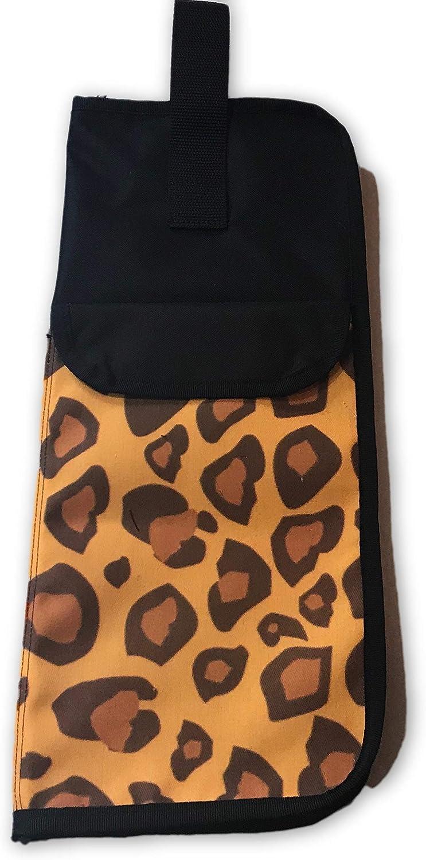 Master Strap Drumstick Bag Leopard Washington Mall Cheap SALE Start Brown -