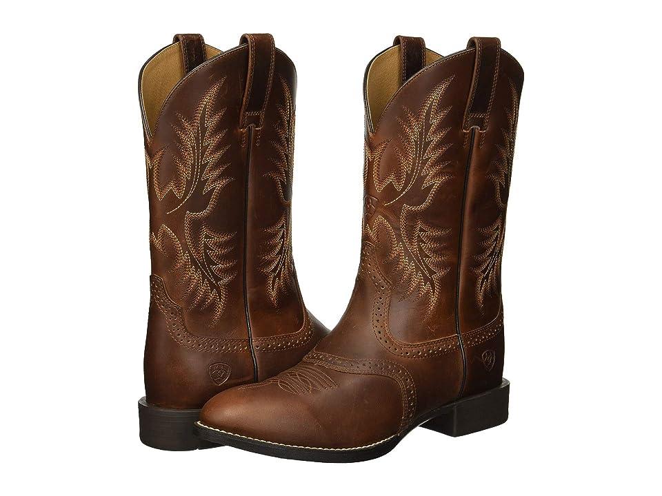 Ariat Heritage Stockman (Native Nutmeg) Cowboy Boots
