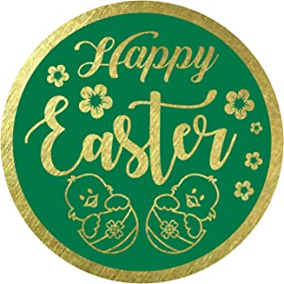 happy easter labels
