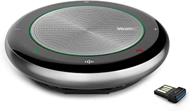 Wireless-Bluetooth-Speakerphone Yealink CP700 Speakers with Microphone Enhanced Noise Reduction...