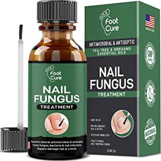 EXTRA STRONG Finger & Toenail Fungus Treatment| Organic & USA Made Nail Fungus..