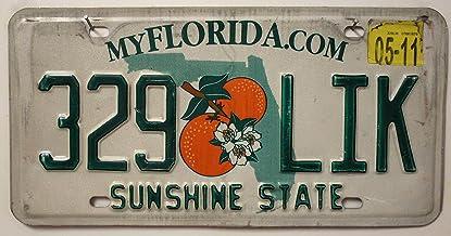v9 OPO 10 Los mit 5 USA Autokennzeichen aus Metall Repliken von echten amerikanischen Kennzeichen