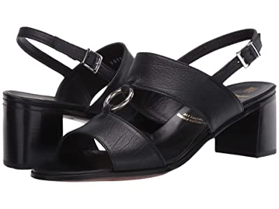 Gravati Sandal with Metal Ring (Black) Women