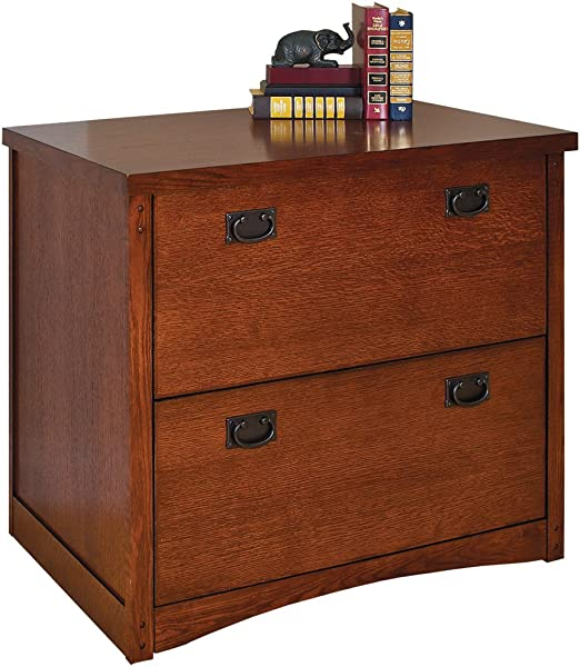 Martin Furniture Mission Pasadena 2 Drawer Lateral File Cabinet