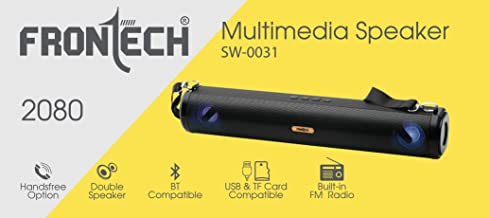 FRONTECH Multimedia Speaker USB|FM|BT SW-0031 Price: Buy FRONTECH  Multimedia Speaker USB|FM|BT SW-0031 Online in India -Amazon.in