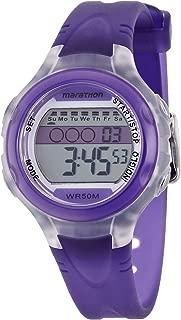 Women's T5K427 Purple Resin Quartz Watch with White Dial