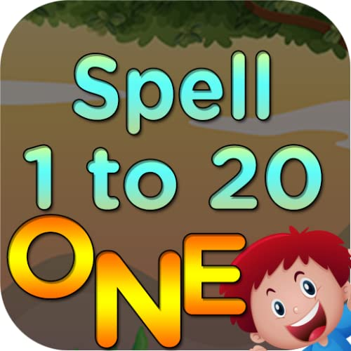 1 to 20 Numbers spelling games for toddlers and kids