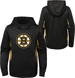 OuterStuff Youth NHL Boston Bruins Performance Hoodie Youth Sizing