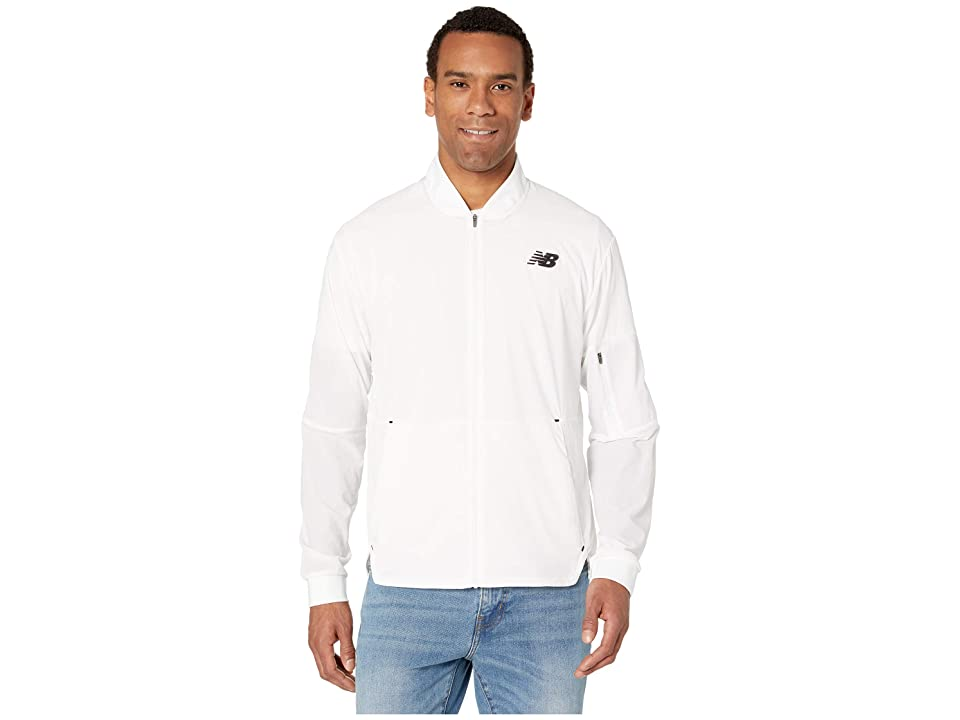 New Balance Energy Jacket (White) Men