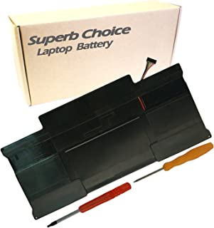 Superb Choice A1405 A1369 Battery Compatible with MacBook Air 13