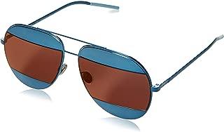 New Dior Sunglasses Mens DIOR SPLIT 1/S Blue Y4ERD DIORSPLIT1/S 59mm