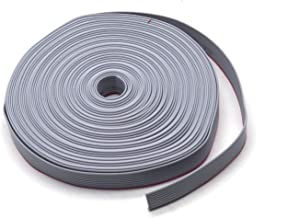 Antrader IDC Flat Ribbon Cable,10 Wire (32ft) for 2.54mm Connectors, Grey