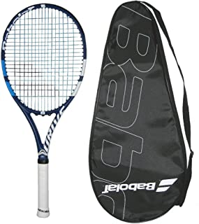 Babolat 2018 Drive G Lite Tennis Racquet - Strung with Color Choice - Cover