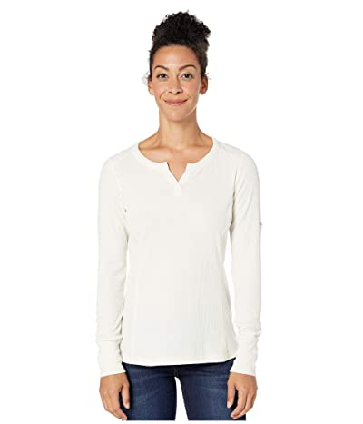 Columbia Fall Pinetm Long Sleeve Pullover (Chalk) Women