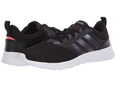 adidas Kids QT Racer 2.0 (Little Kid/Big Kid) (Legend Ink/Legend Ink/Signal Pink) Girls Shoes