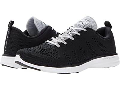 Athletic Propulsion Labs (APL) Techloom Pro (Black/Metallic Silver/White) Women
