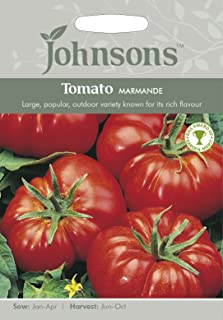 ANVIN Las Semillas del Paquete:: Semilla Johnsons Tomate Marmande