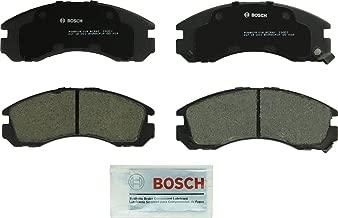 Bosch BC530 QuietCast Premium Ceramic Disc Brake Pad Set For Select Dodge Stealth; Eagle Talon; Mitsubishi 3000GT, Diamante, Eclipse, Galant, Montero, Montero Sport, Outlander; Plymouth Laser; Front