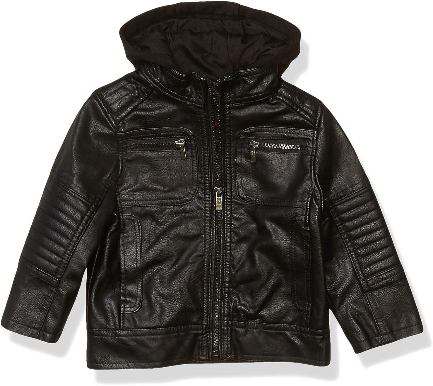 URBAN REPUBLIC Boys 驚きの値段 Artsy Faux Jacket Leather 毎日激安特売で 営業中です