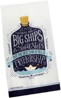 Nantucket 2-ply Friendship Big Ship Guest Towels Buffet Paper Napkins, 20 ct