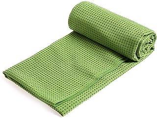 Yoga Mat Folding Mats Home| 40^Fitness Yoga Mat Non-Slip Shop Towel Yoga Blanket Yoga Mat Towel Yoga Mat Yoga mat thick (C...
