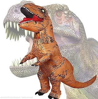 Party Geschenk aufblasbarer T-Rex Dinosaurier Kostüm für Erwachsene Dress up Cosplay Kostüm Anzug Party