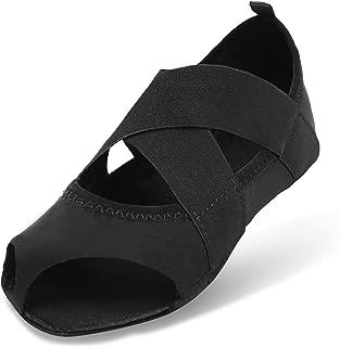 Women's Ballet Shoes Half Toe Grip Non-Slip for Yoga Pilates Barre
