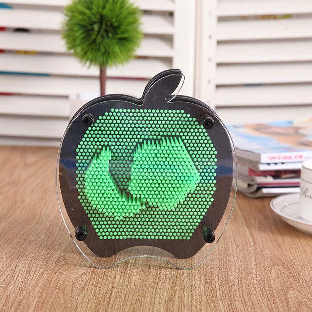 Amazon.com 20D Art Sculpture Apple 20D Clone Pin Plastic Pin Hand ...