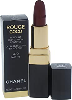 CHANEL Rouge Coco Ultra Hydrating Lip Colour - 470 Marthe, 3.5 gm, 0.12 oz. Red