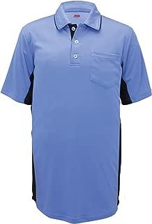 Adams MLB Style Baseball and Softball Umpire Polo Short Sleeve Shirt