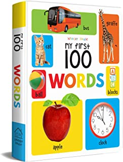 My First 100 Words Padded Board Book