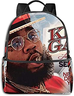 Kevin Gates Backpack Unisex Custom Fashion Casual Multi-function Travel Daypack 15 Inch