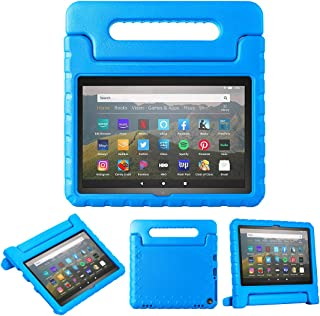 Feitenn Fire HD 8 Tablet Case with Handle (10th Gen, 2020 Release, Fire HD 8 Plus Case for Kids, Kids-Proof Cover Kids Cas...