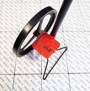 Würth Rueda de medición Distancia Rueda de medición vermessungs Cilindro de Roll metros 0hasta 9999.99M bolsa recorrido E804Diseño Rueda de medición Diseño Medidor