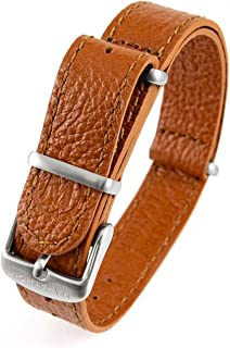 Watch Leather NATO Watch Strap/Band (Available in 16mm / 18mm / 20mm / 22mm)