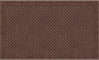 Apache Mills 60-883-1403-18x30 18X30 Latice Door Mat, Walnut, 18 X 30-Inch