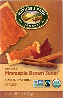 Nature's Path (NOT A CASE) Organic Frosted Mmmaple Brown Sugar Toaster Pastries