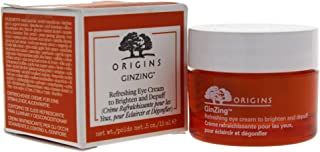 Origins Ginzing Refreshing Eye Cream To Brighten and Depuff By Origins for Unisex - 0.5 Oz Eye Cream, 0.5 Ounce