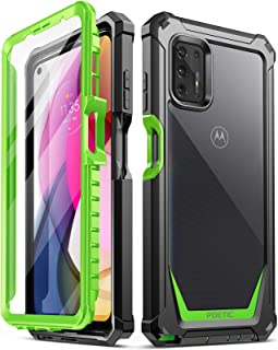 Poetic Guardian Series Case Designed for Moto G Stylus (2021), Full-Body Hybrid Shockproof Bumper Cover with Built-in-Scre...