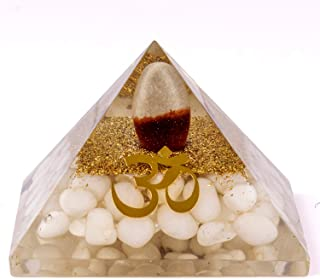 Divine Magic Orgone Pyramid Healing Large Shivling Energy Generator Stone Heals Inner Anger, Fostering Love, Builds Self-C...