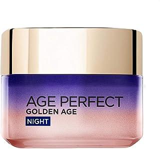 L'Oréal Paris, nattkräm för mogen hud, Age Perfect Golden Age Rosy Night Cream, 50 ml
